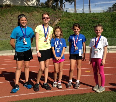 1 Mile Girls 1st - 5th