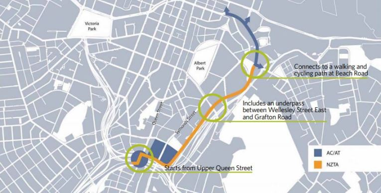 Grafton Cycleway - Route Map