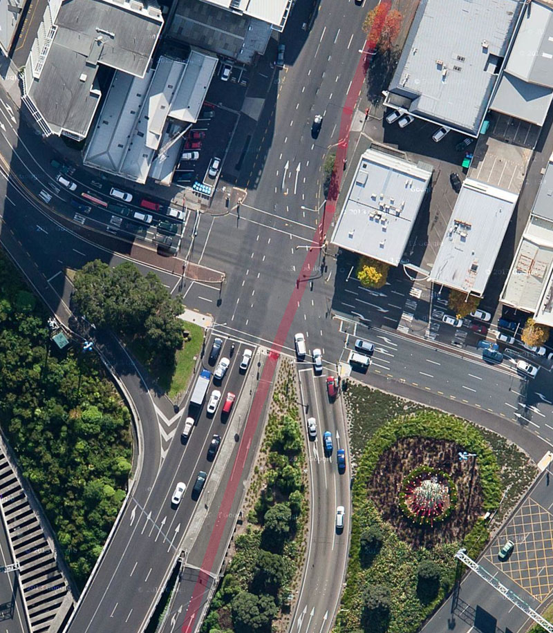 06 Nelson Street - New crossing and cycleway