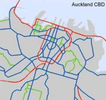 Auckland Cycle Network - City Centre