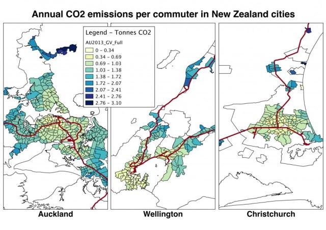 Annual CO2 emissions per commuter DRAFT v1