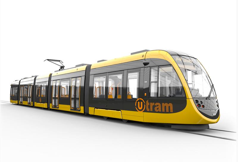 CAF Urbos Light Rail for Utrecht