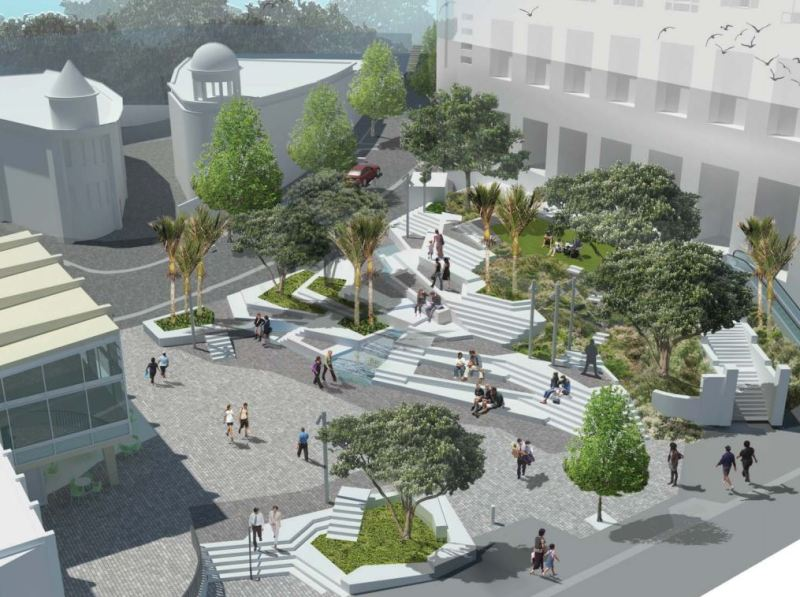 Freyberg Square Proposed Design