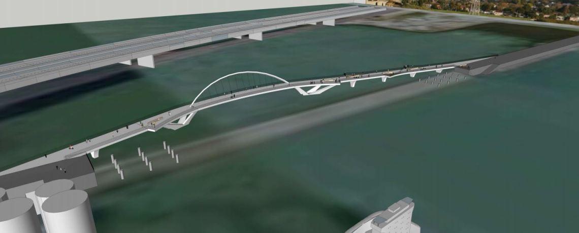 New Mangere Bridge - NW