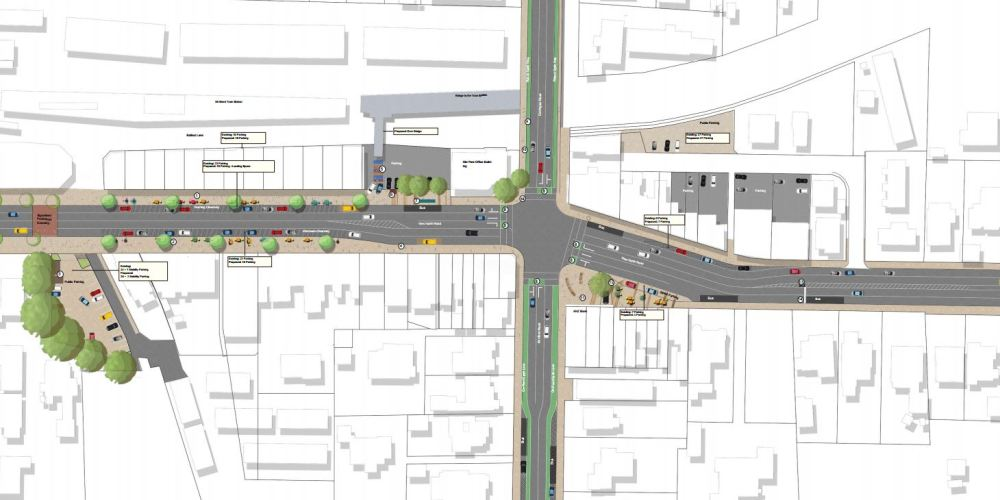 Mt Albert Town Centre Upgrade