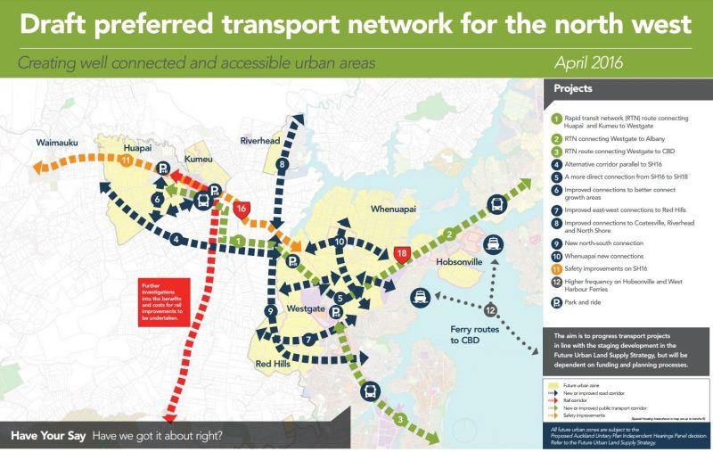 TFUG - Draft Preferred Plan - Northwest