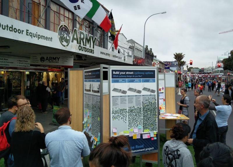 K Rd open street consultation - voting