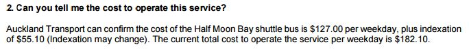 Half Moon Bay park n ride shuttle Cost