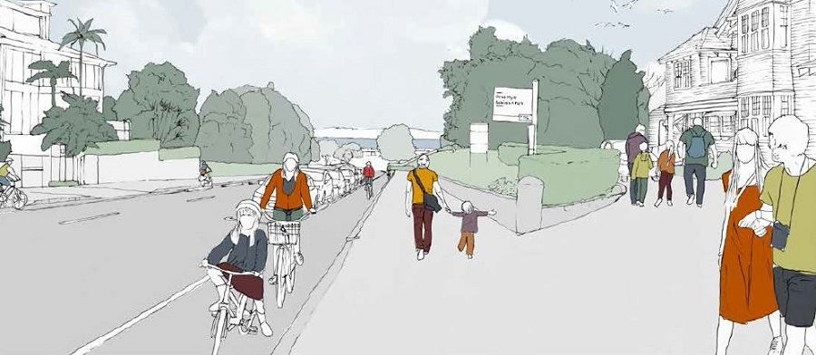 parnell-cycleway-artists-impression