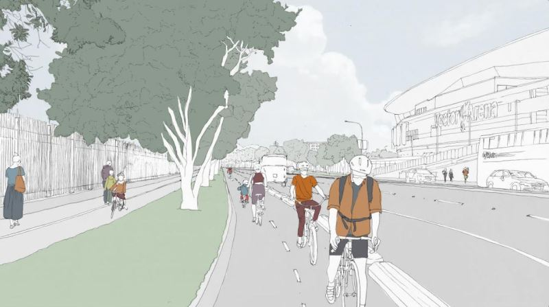 quay-st-cycleway-extension-impression-2