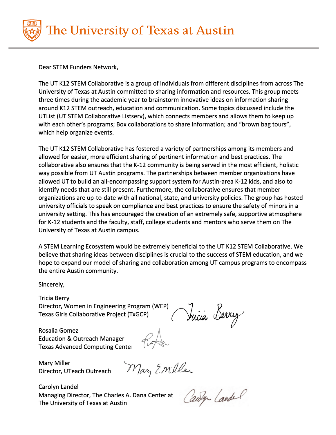 letter of support 2 about greater stem ecosystem 1426