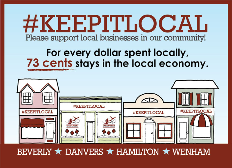 Keep It Local Initiative by the Greater Beverly Chamber of Commerce