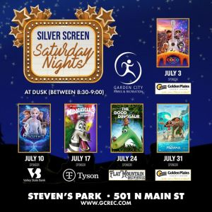 Silver Screen Saturday Nights- Moana @ Stevens Park