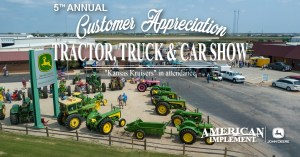Customer Appreciation Tractor, Truck & Car Show @ American Implement