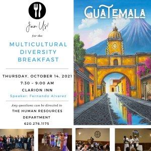 Multicultural Diversity Breakfast @ Clarion Inn