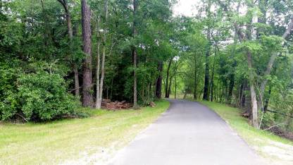 Newly paved trails