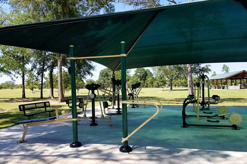 Zube Park Workout
