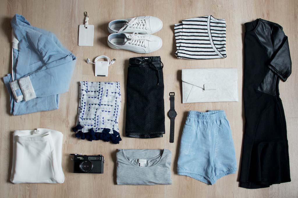 Capsule Travel Wardrobe