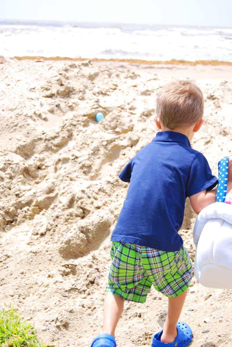 Easter Egg Hunt at the Beach