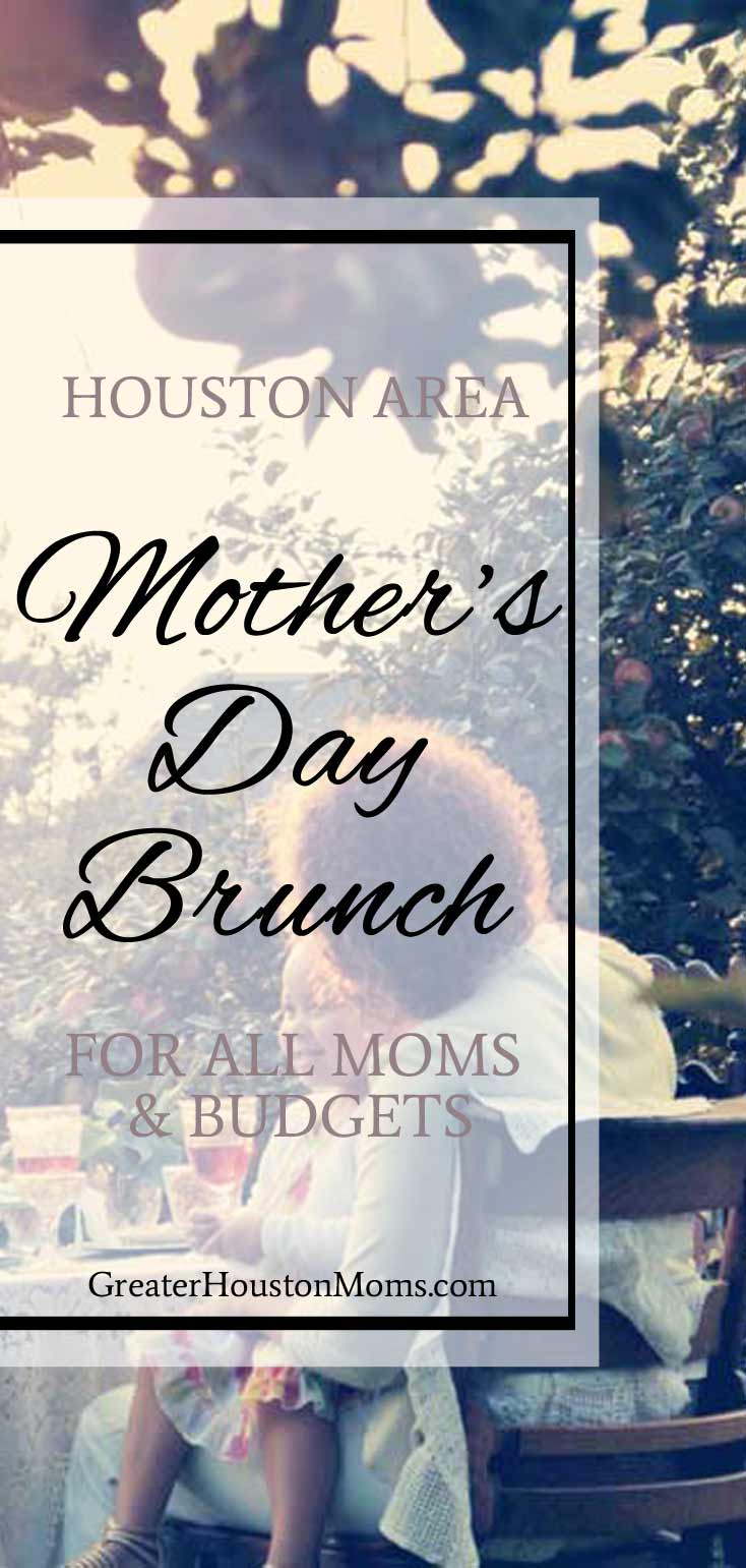 Houston Area Mother's Day Brunch - the best most elegant food & drinks at a restaurant she'll love!
