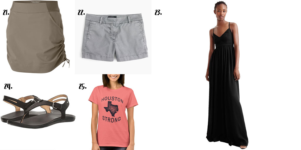 Spring 2018 Capsule Wardrobe perfect for the temperamental weather of a South Texas spring!