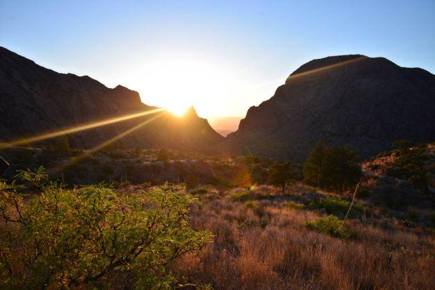 BBNP Window View Trail Sunset