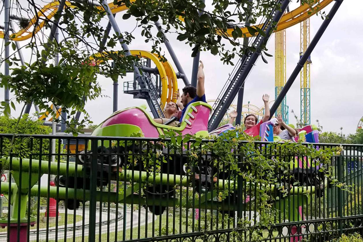 Six Flags Fiesta Texas Kiddee Koaster