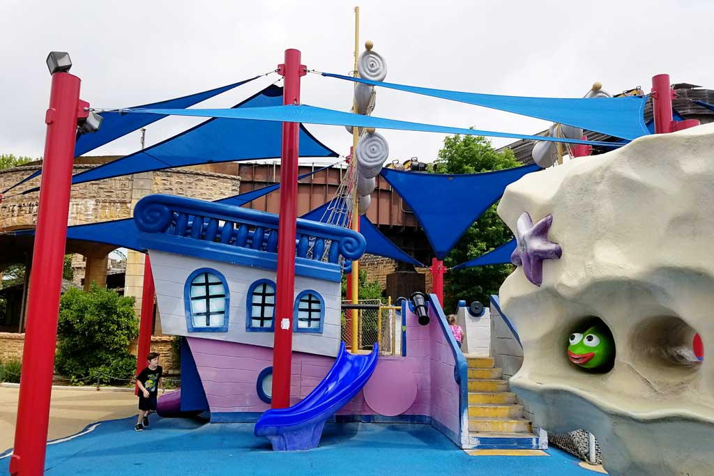 Six Flags Fiesta Texas Pirate Ship Play Zone