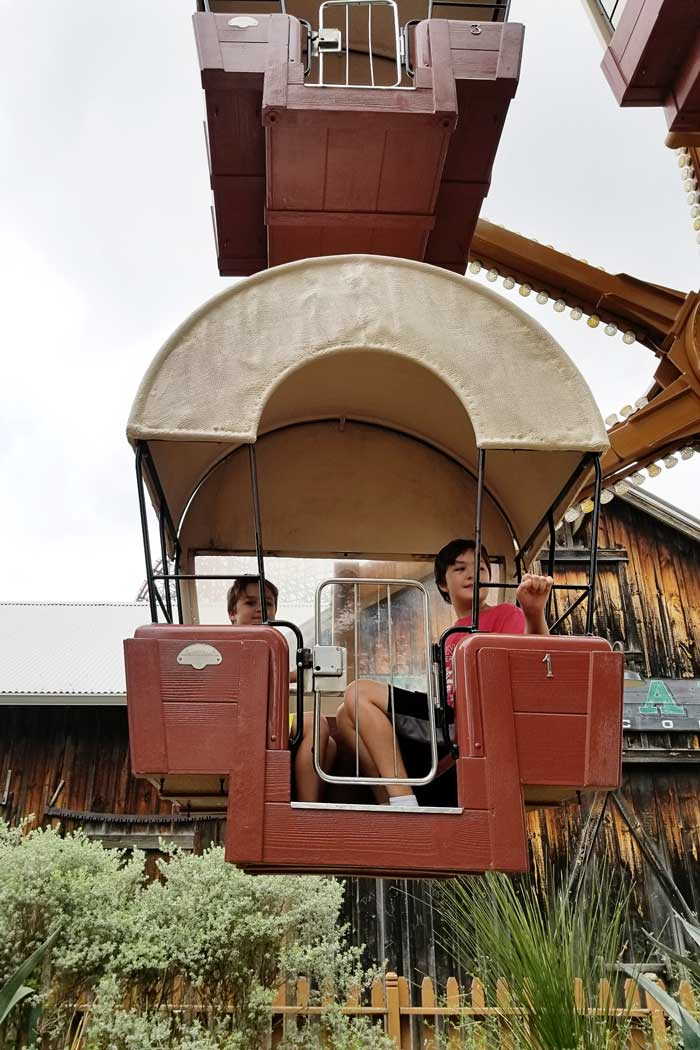Six Flags Fiesta Texas Wacky Wagons