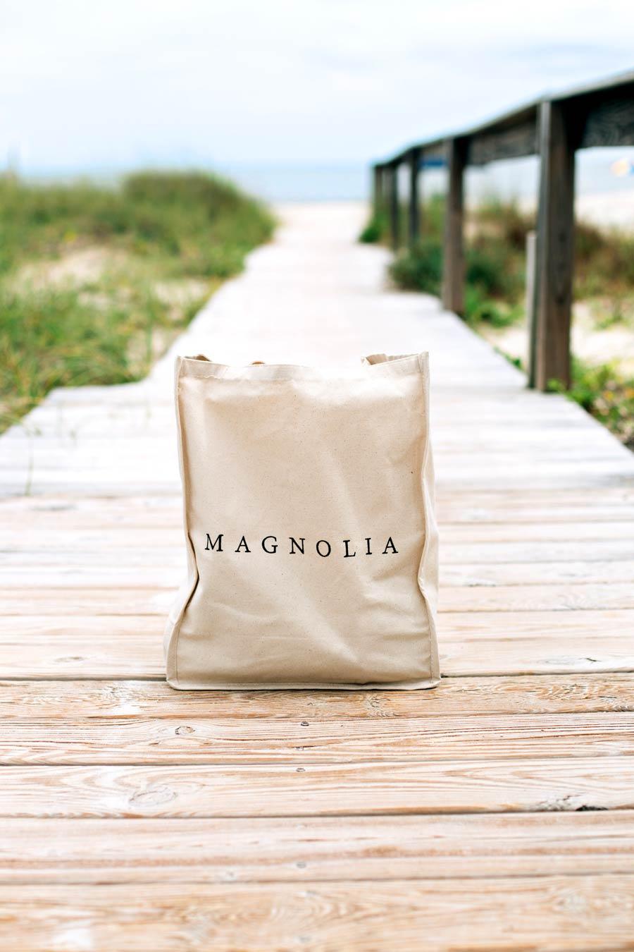 Magnolia Beach Bag