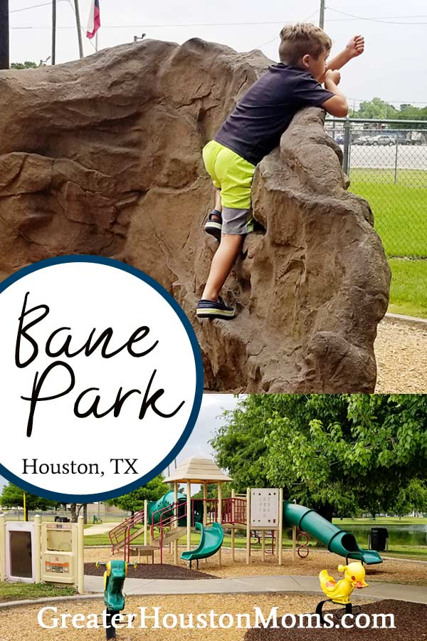 Bane Park in Houston, TX