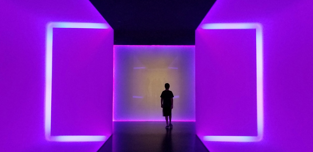 MFAH The Light Inside by James Turrell in the Wilson Tunnel