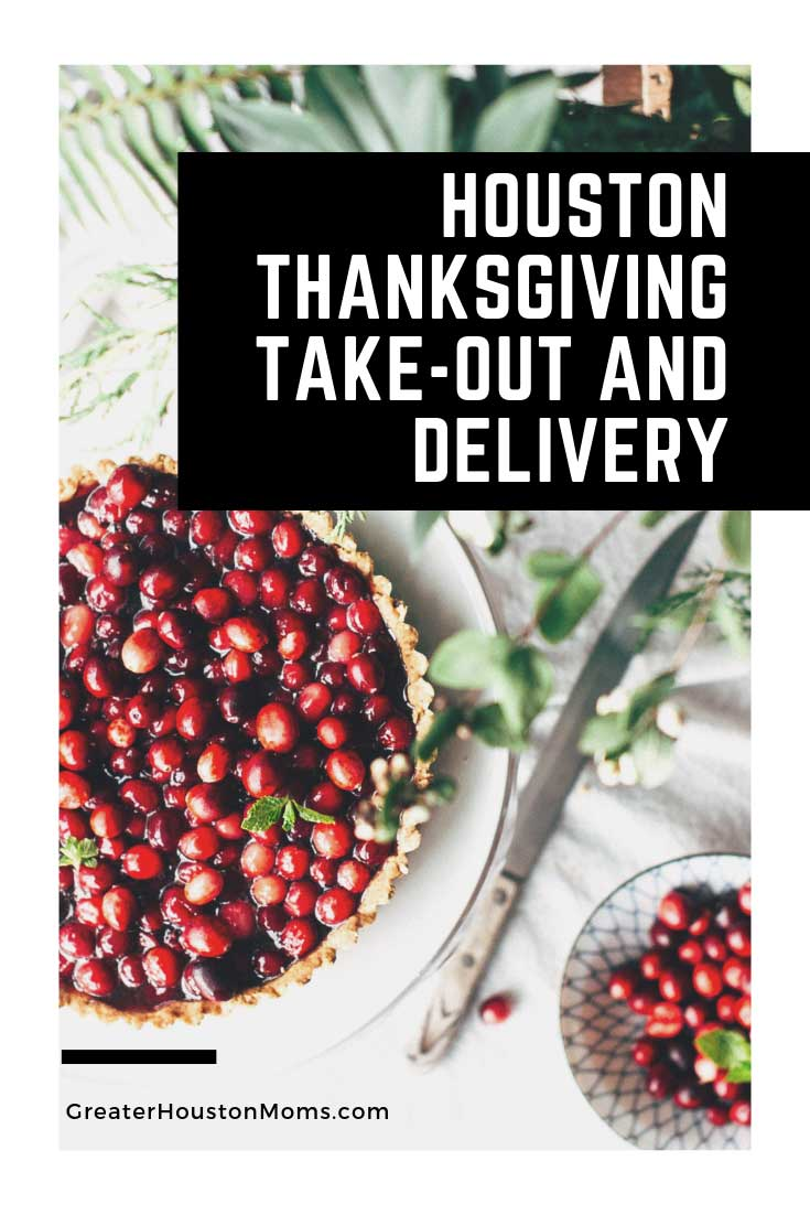 Houston Thanksgiving Take-Out and Delivery