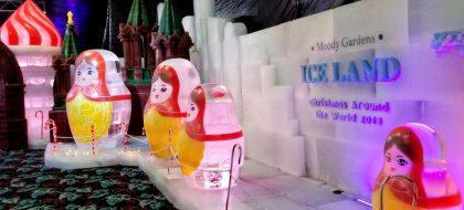 Moody Gardens Ice Land