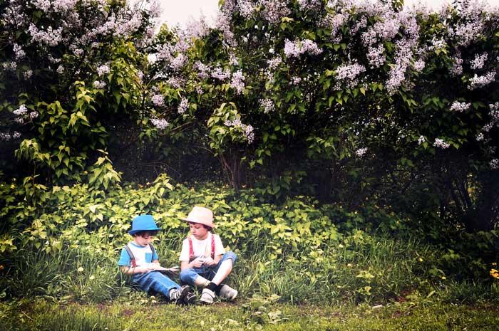 Story Time in the Garden at Mercer Botanic Garden | Greater Houston Moms