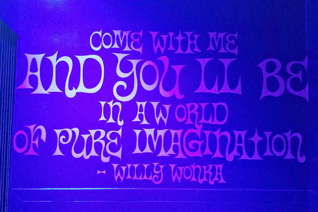 Candytopia Willy Wonka Quote