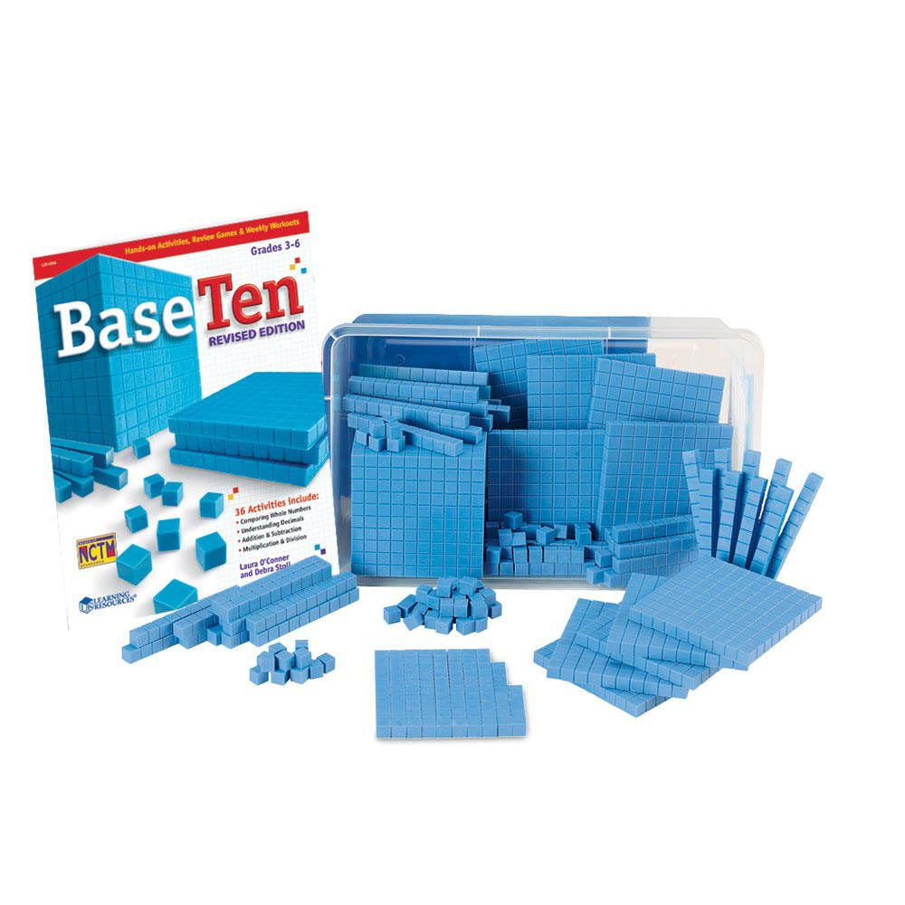 Base Ten Blocks for Teaching Place Value