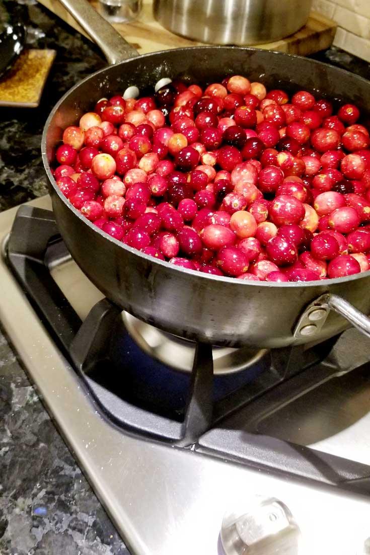 Cooking Cranberry Sauce