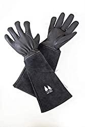 long-sleeved garden gloves