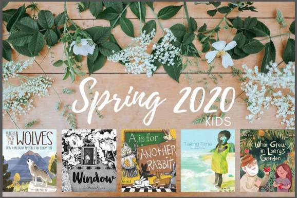 Spring 2020 kids book list