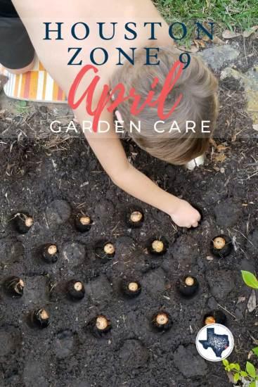 april garden care