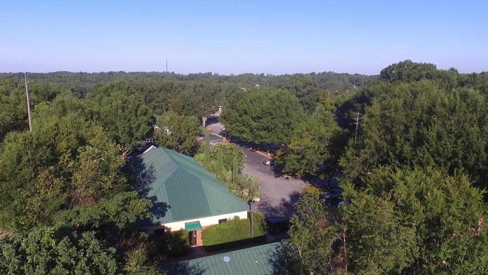 Irmo Town Hall From The Sky Taken by Cut Throat Marketing