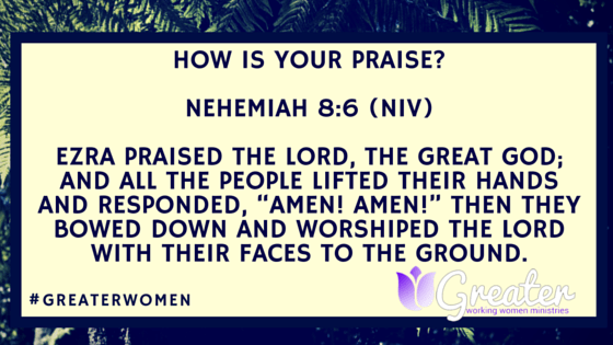 How Is Your Praise Blog Post