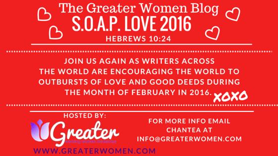 S.O.A.P. LOVE 2016 Blog Title