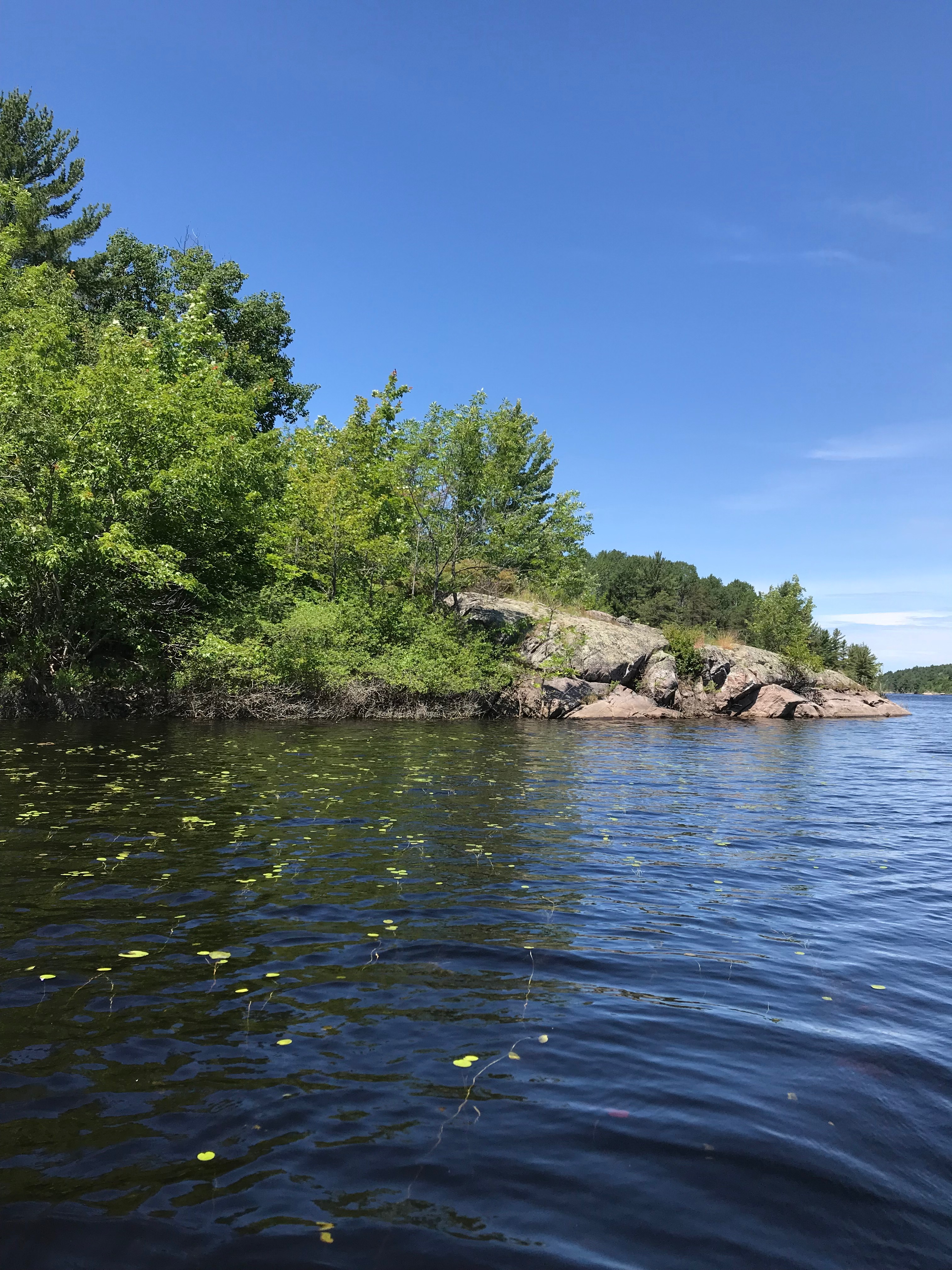 french river canoeing