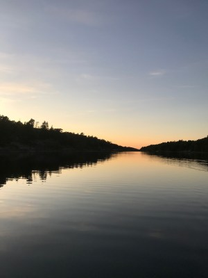 french river fishing