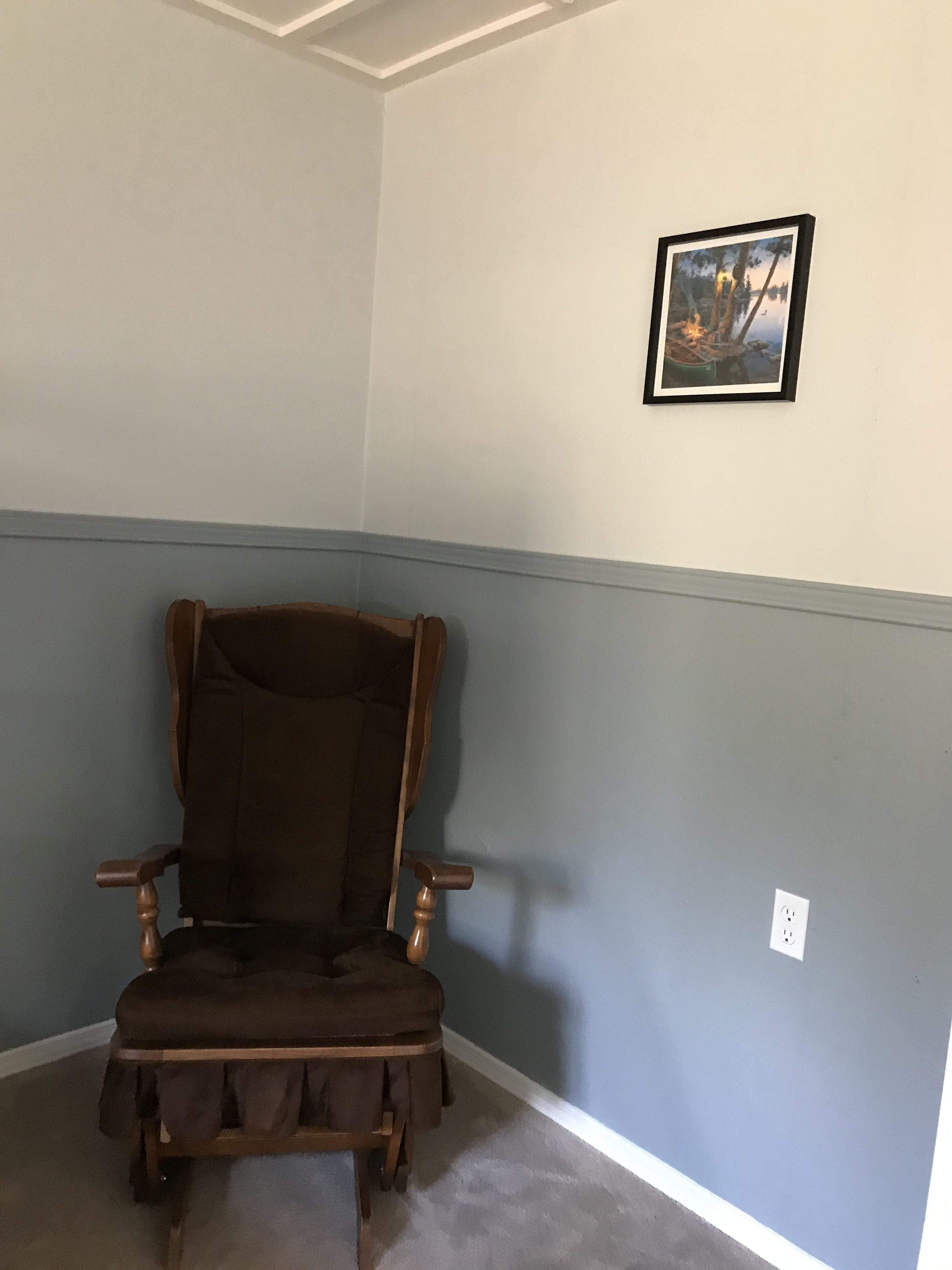bedroom 3 rocking chair