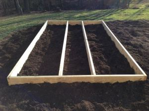 Building A Plant Propagation Bed Part 1 - 2 Beds and A Walkway