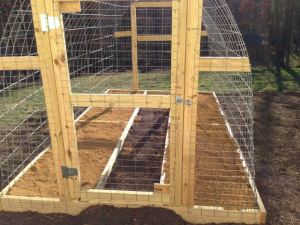 Deer Proof Plant Propagation Beds