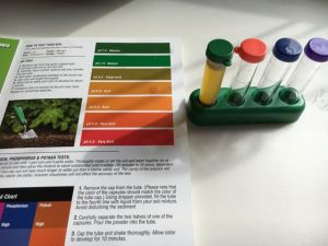 Hold All Test Tube Soil Test Kit Product Review